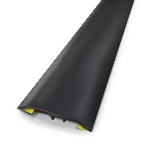 Barre De Seuil Aluminium Anodise Noir L 83 X L 3 7 Cm