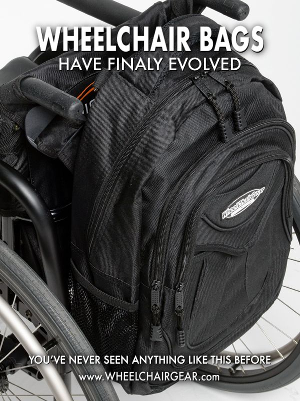 Slice Wheelchair Backpack Wheelchair Bag in 2019