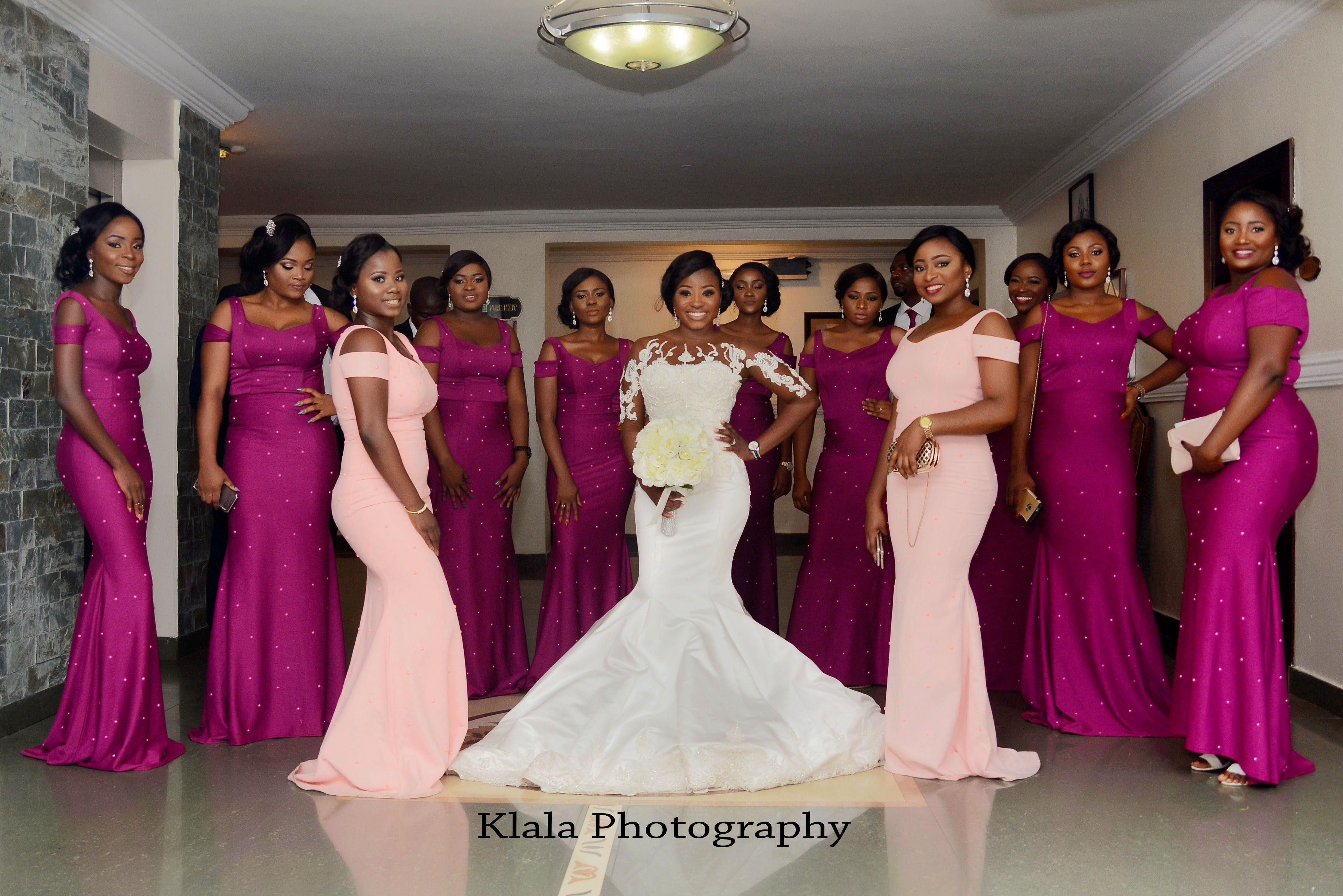 I Do I Do Wedding Gowns: FUNKE & AKINYEMI: A GORGEOUS NIGERIAN WEDDING BY KLALA