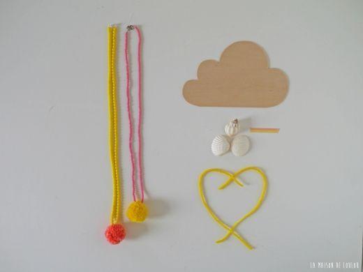 DIY pompon necklace by La maison de Loulou blog pic-3