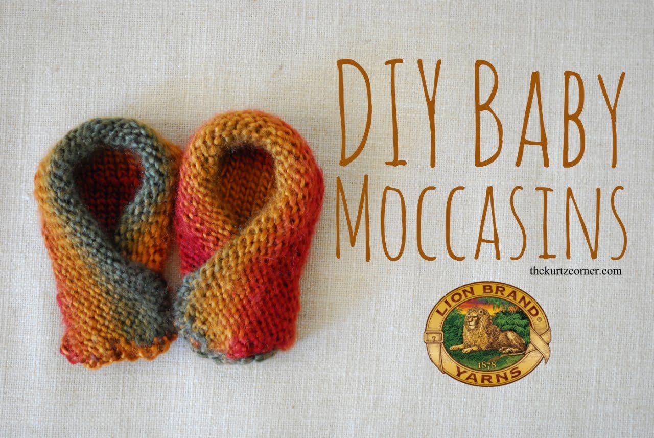 DIY Baby Moccasins - Martha Stewart Knit & Weave Loom Kit | Telar ...