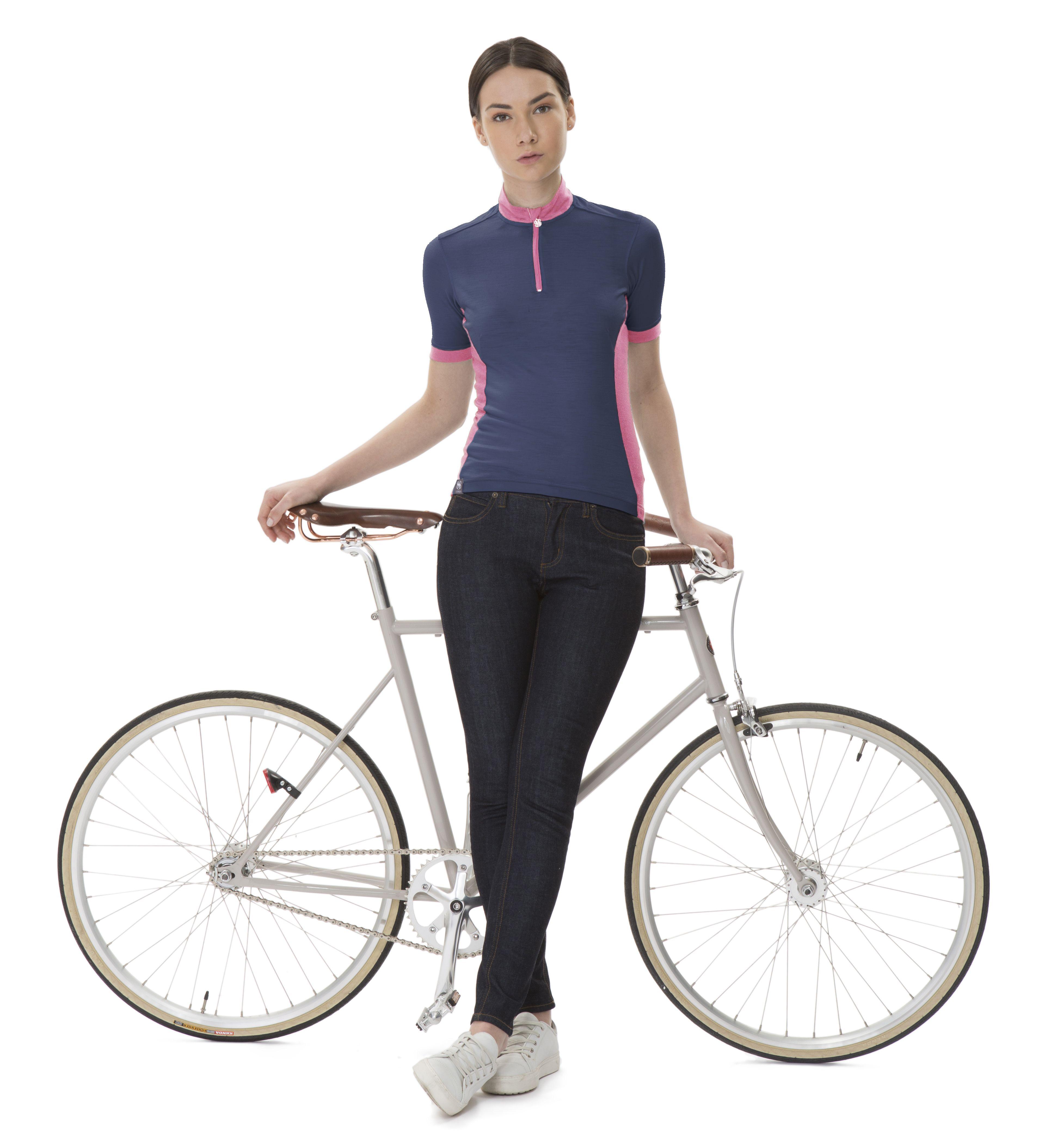 Marianne Merino Jersey By Ligne8 Merinowool Cyclingjersey