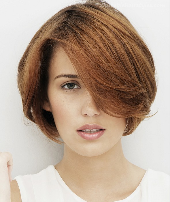 16 Fashionable Short and Medium Hairstyles for - 9 #ShortHairstyles ...