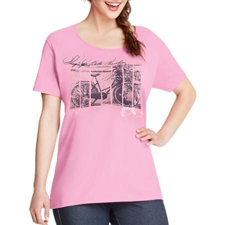 581bca36311  walmart Just My Size by Hanes Women s Plus-Size Watercolor Graphic Tee -   5 (save 28%)  just  my  size