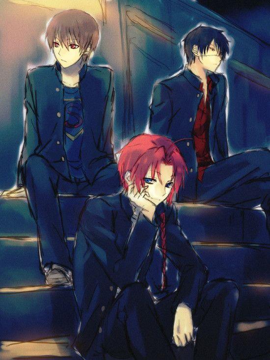 The baddest school gang XD Gin Tama, Kamui, Okita Sougo, Takasugi Shinsuke