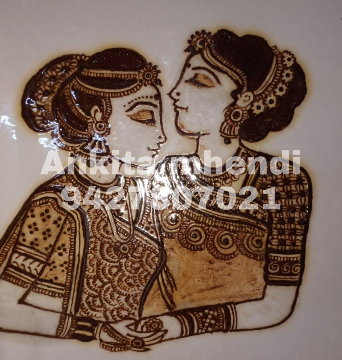 Idea By Ankita' S Mhendi On Bridal