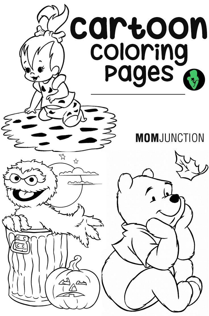 Cartoon Coloring Pages : 15 Free Printable Sheets for Kids | Cartoon ...