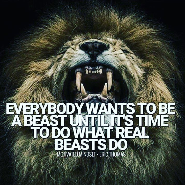 repost unleash the cold beastmotivation beastmode