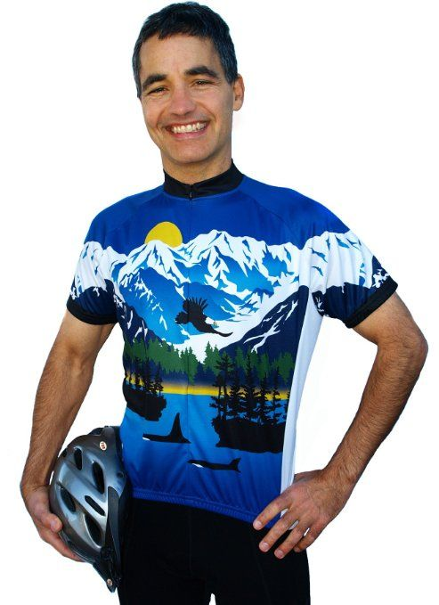 Coastal (no words) Short Sleeve Cycling Jersey - Medium  58735f419