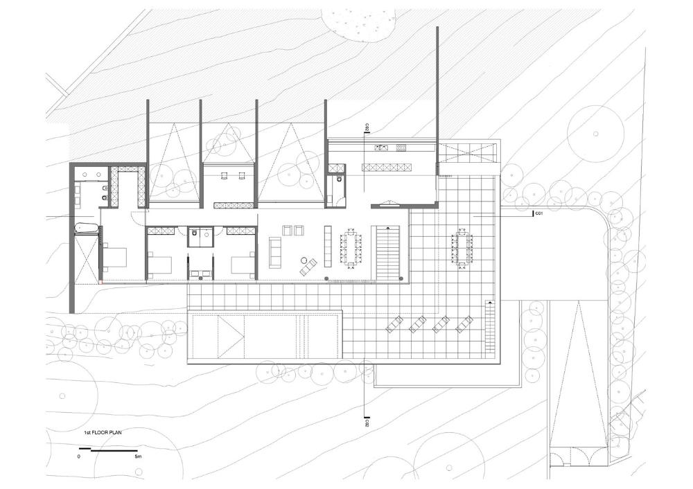 Gallery Of House In Espinho Azo Sequeira Arquitectos Associados 25 In 2020 Architecture House House Floor Plans