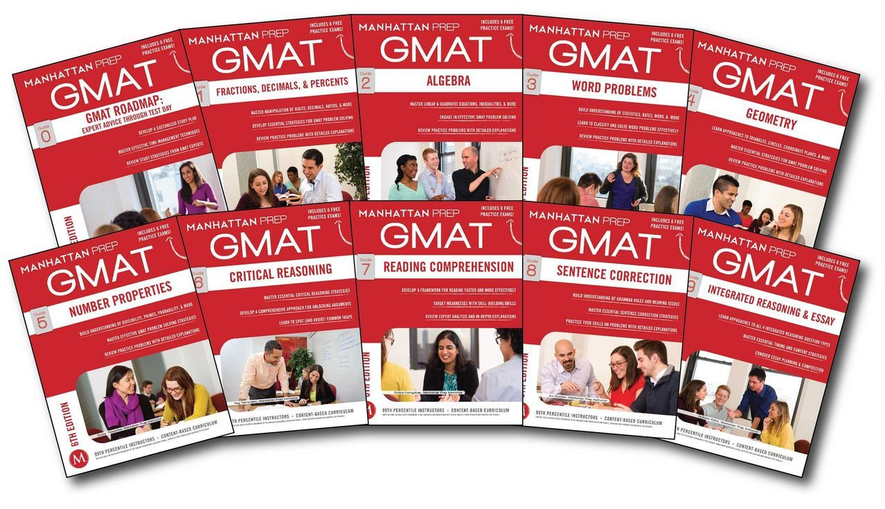 Hixamstudies: Manhattan Complete GMAT Prep Set 6th Edition