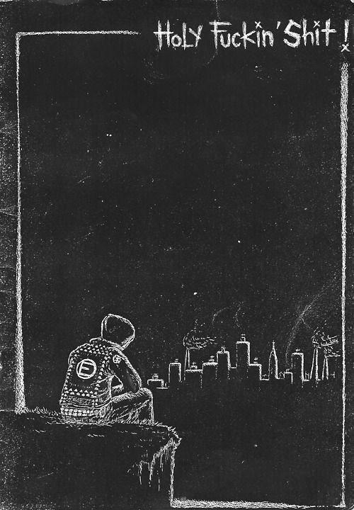 ノ ヮ ノ ゚ やらないか Punk Art Punk Poster Crust Punk
