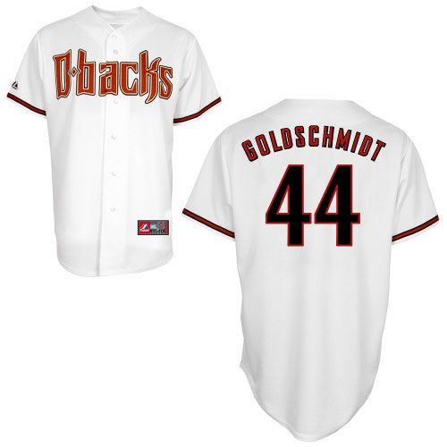 79b883e695e2 Arizona Diamondbacks Replica 2012 Paul Goldschmidt Home Jersey - MLB.com  Shop