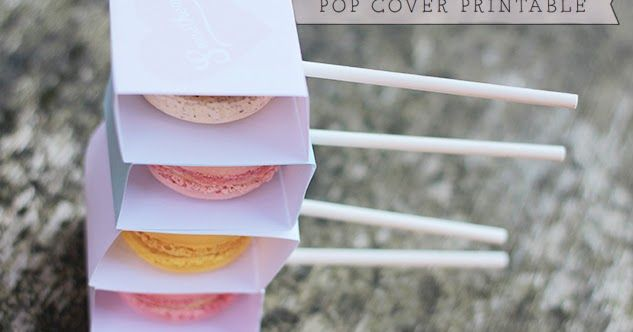 A Little London Wedding - A blog for weddings in London: Macaron Pop Covers - DIY & Wedding Freebie