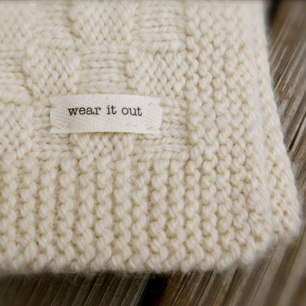 Big Bad Wool Basket Weave Baby Blanket Knitting Pattern PDF ...