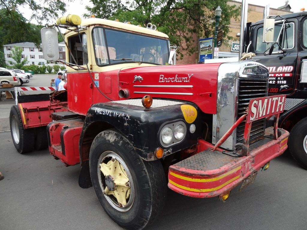 Brockway Single Drive Prime Mover Brockway Trucks Antique Cars