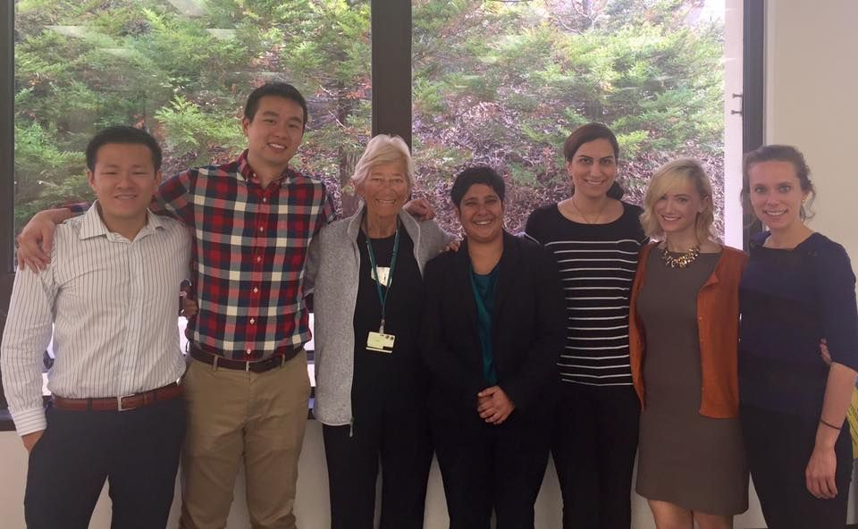 Dr  Karin Vargervik came to visit UCSF Orthodontics this