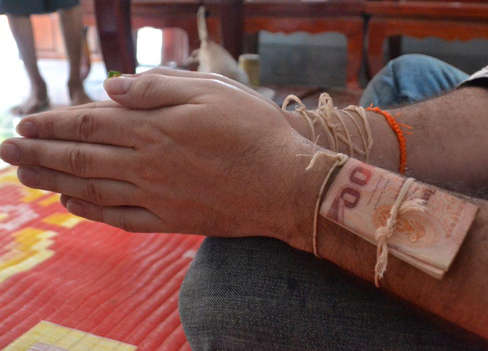 Monk Blessed String Bracelets Thailand