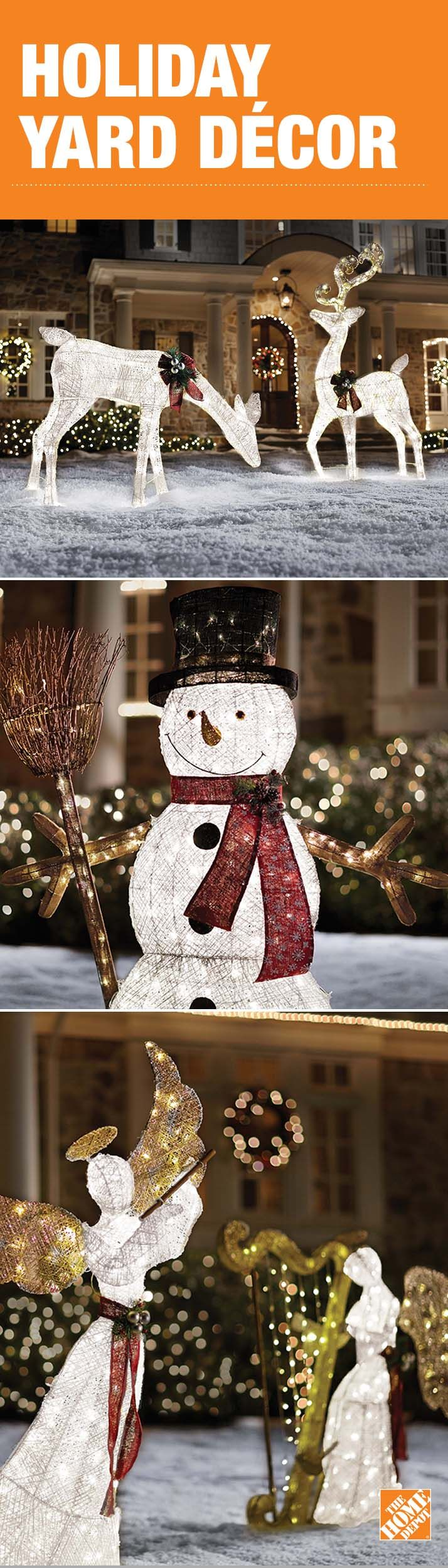 Depot Weihnachtsbeleuchtung.Bring The Cheerful Mood Of The Holiday Season To Your Yard With