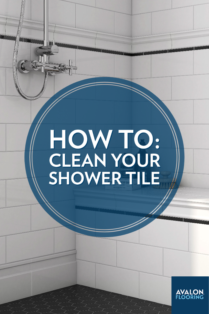 best way to clean shower tile grout