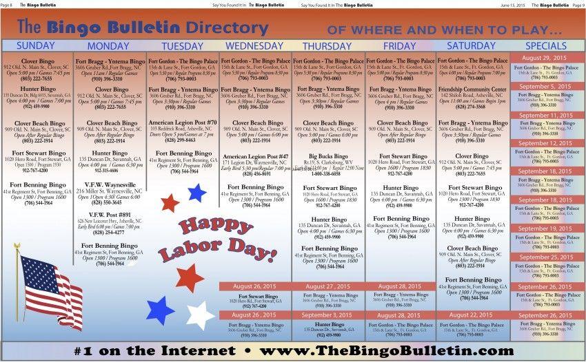 Asheville WNC Bingo Newsletter | 21+ Years the Biggest Bingo Bulletin!