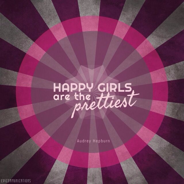 Yeah, #happygirls are the prettiest. #quotes #madewithstudio