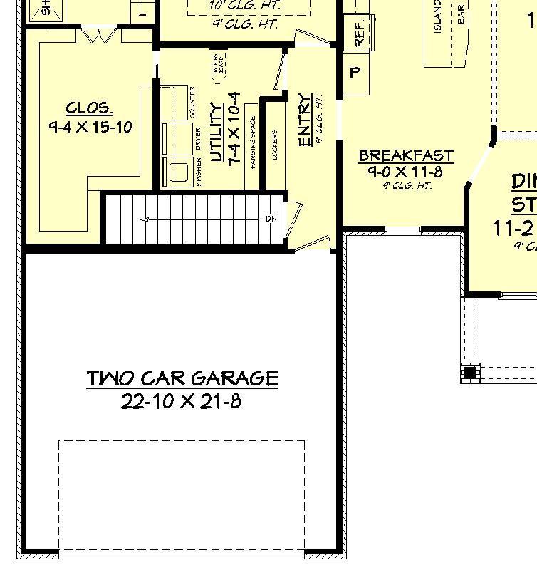Craftsman-Style Home Plan - 3 Bedrooms, 2 Bathrooms