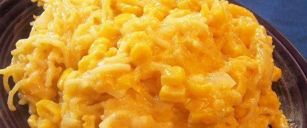 Cheesy Spaghetti Corn Casserole Recipe - Food.com