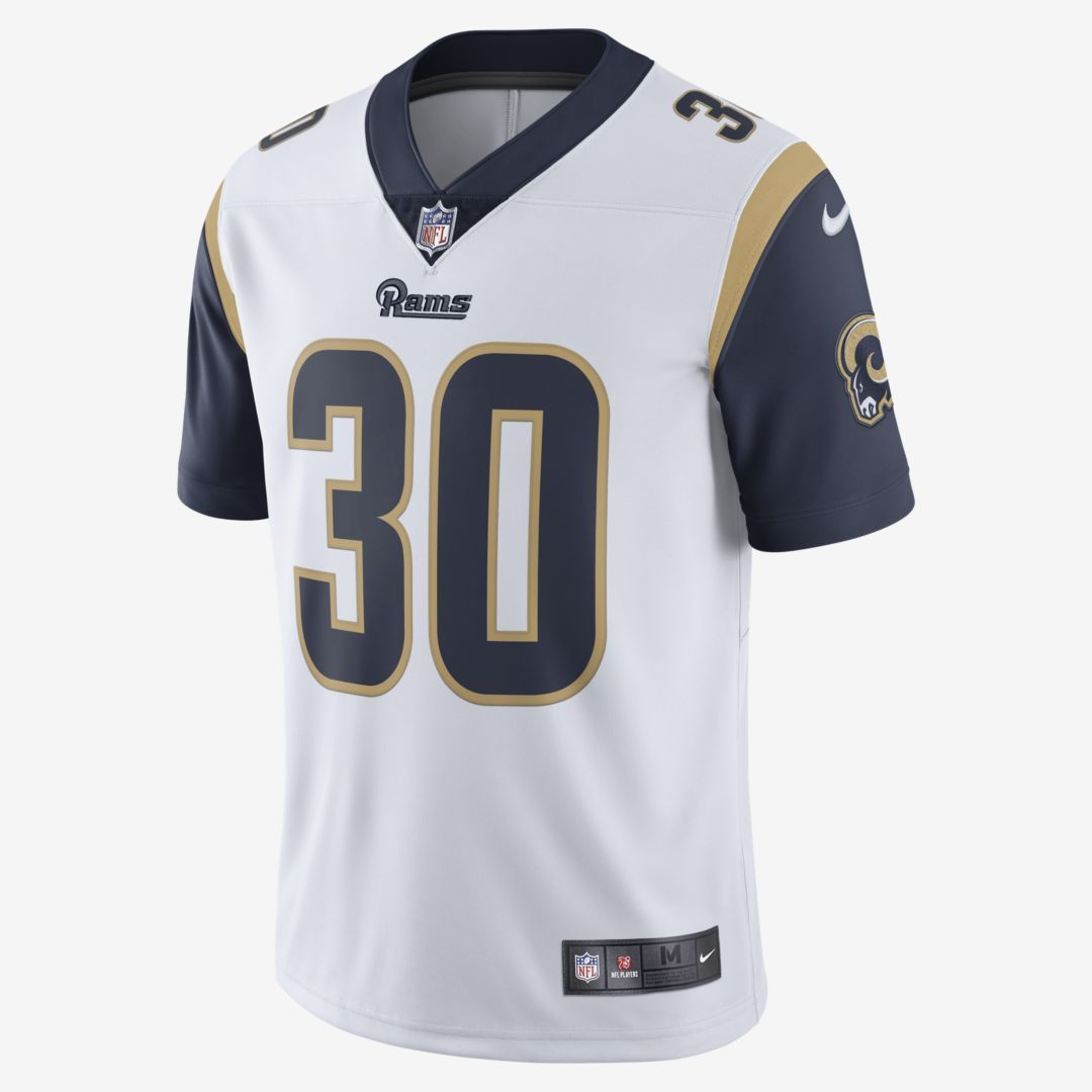 Nike Nfl Los Angeles Rams Limited Todd Gurley Men S Football Jersey White Todd Gurley Los Angeles Rams Football Jersey Outfit