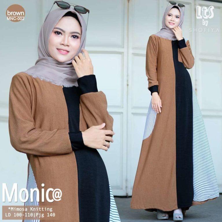 Model Baju Gamis Remaja Simple Terbaru 2019 Model Model Pakaian Hijab Model Pakaian
