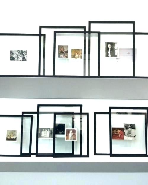 11x14 Floating Frame Floating Frame Gold Picture What Is A Glass Frames Would Be Great For Striped Bathroom Wood Float Frames On Wall Interior Picture Shelves