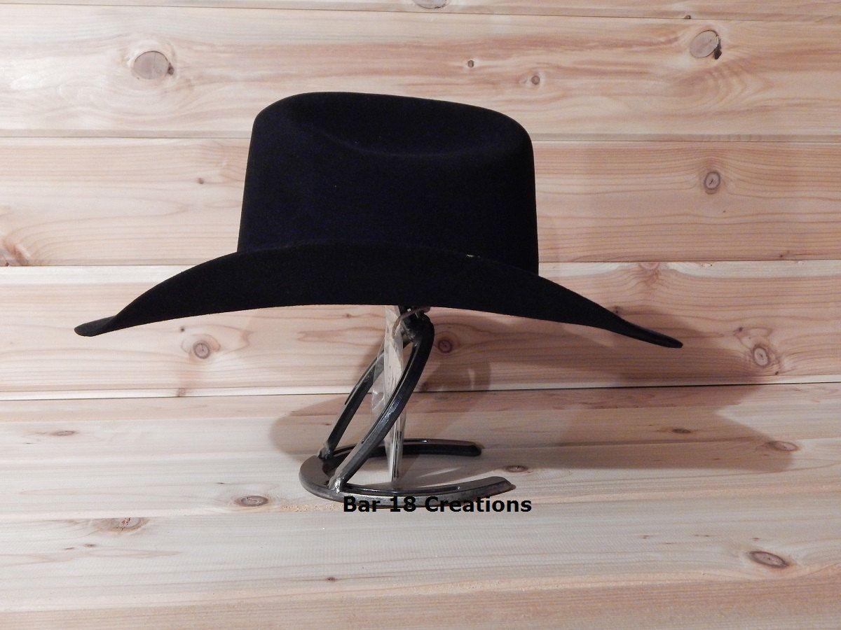 Cowboy Hat Rack Horseshoe Cavalry Hat Table Stand Wall Mount Etsy Cowboy Hat Rack Cowboy Hats Hat Rack