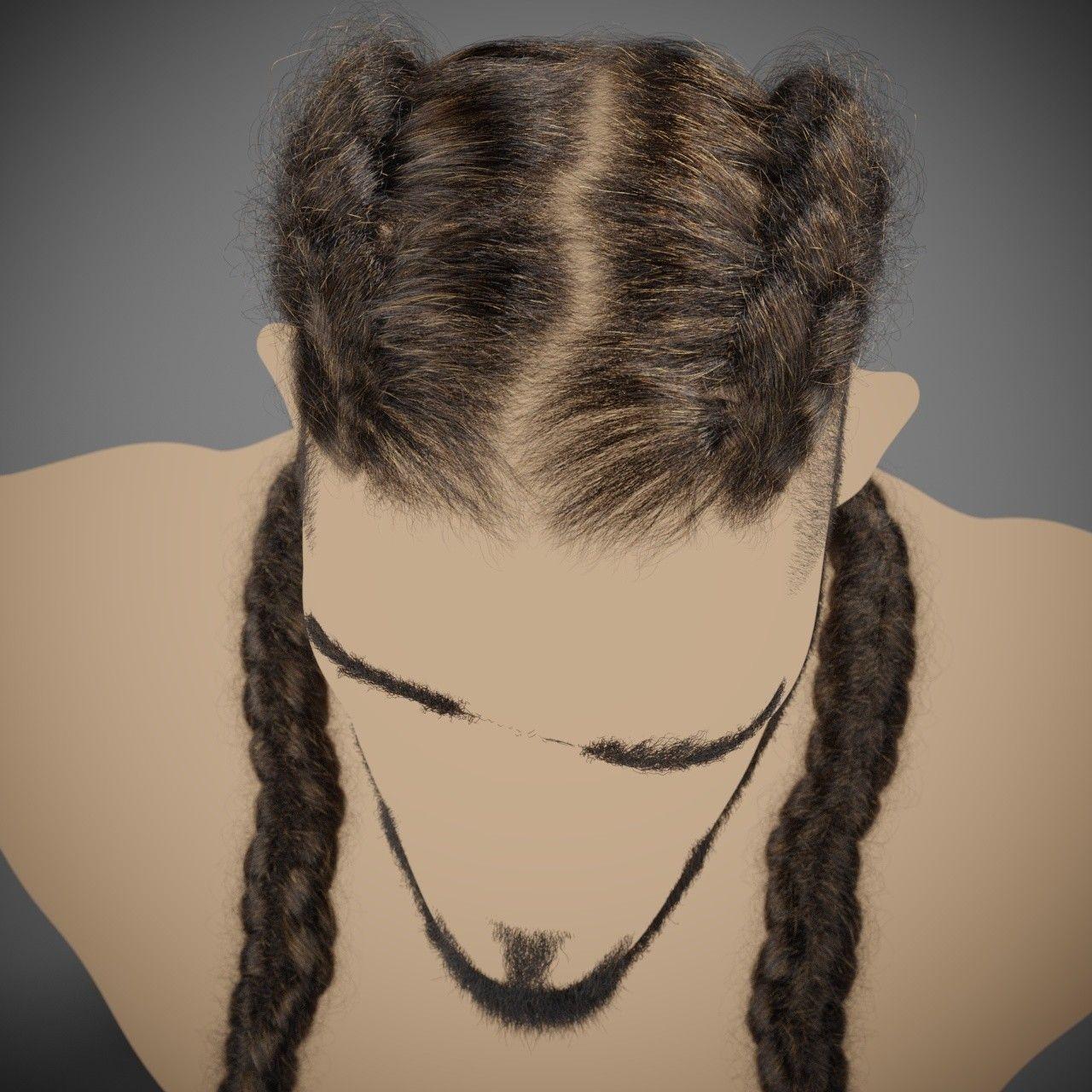 Artstation Joseph Hairstyle Andrew Krivulya Hair Reference Hair Creations Hair