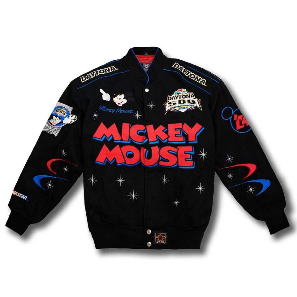 Mickey Mouse Nascar Black Vintage Jacket Vintage Jacket Jackets Vintage Jacket Outfit [ 960 x 960 Pixel ]