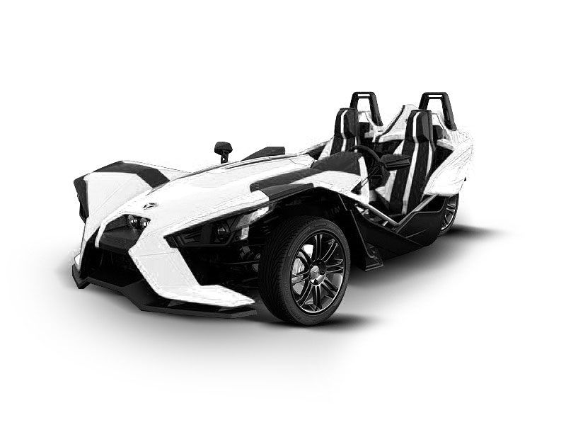 Motorcycle White Motorcycle Cars: Here's A Cool Custom White Polaris Slingshot Concept