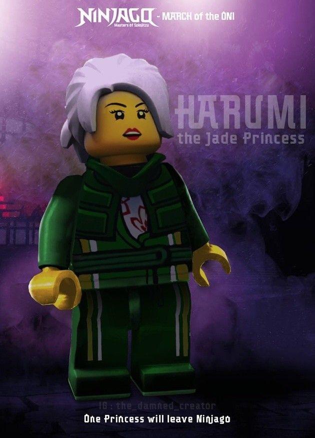 Epingle Sur Ninjago Harumi