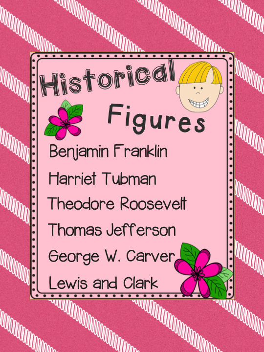 Historical Figures Activities And Assessments Classroom