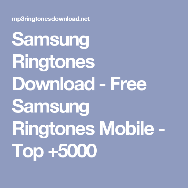 ringtone download free hd