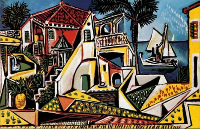 Shop Popular Mediterranean Landscape Picasso from China   Aliexpress