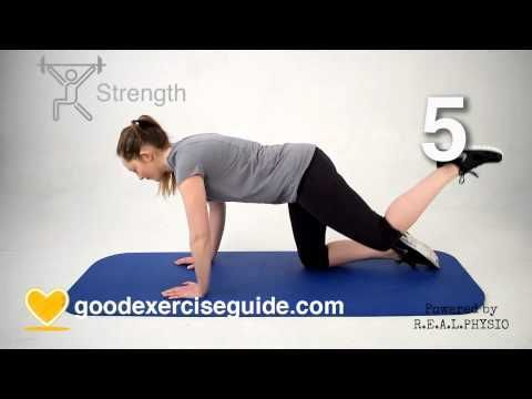 10 best exercises for hip arthritis full physio sequence