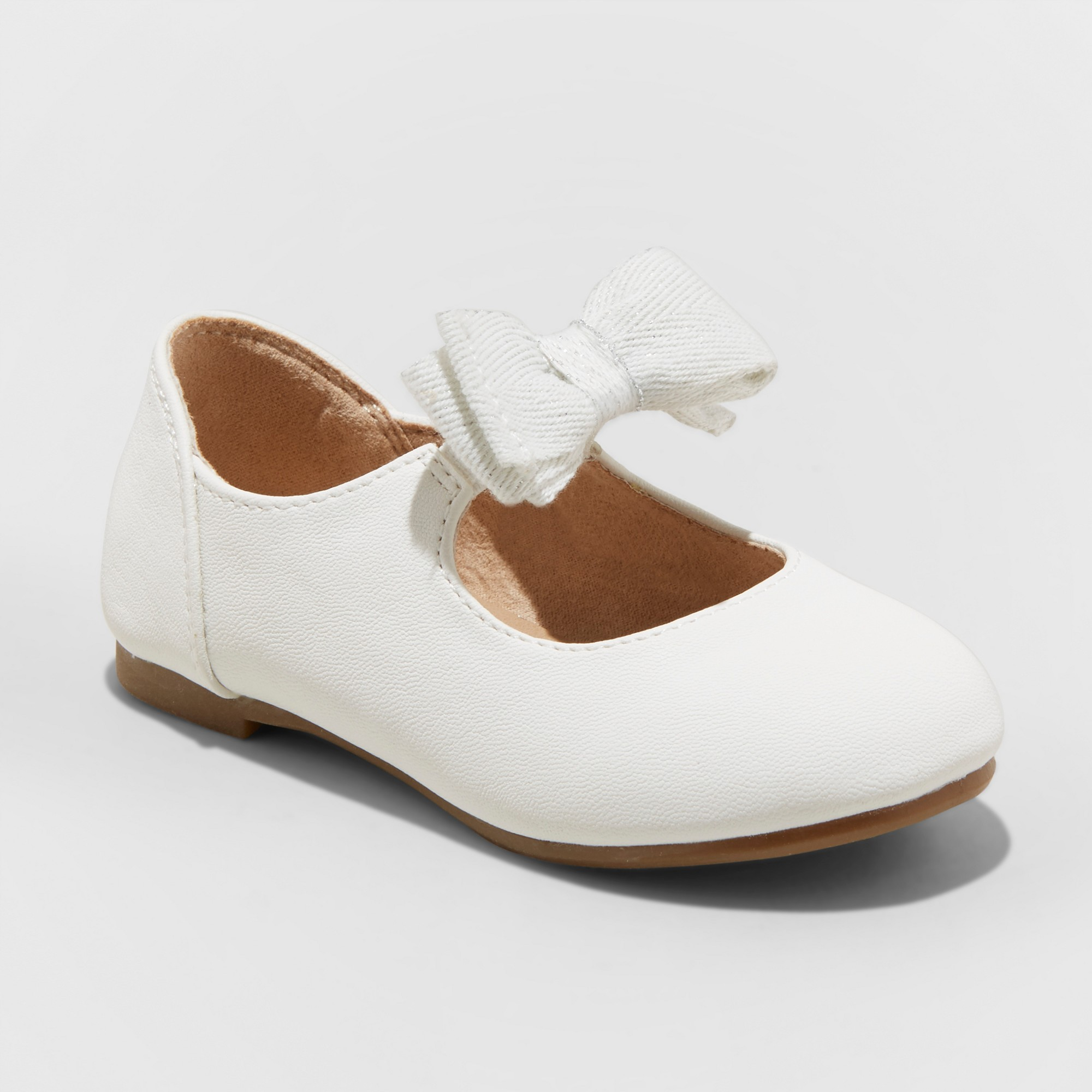 a5e2e28a267c Toddler Girls  Belle Mary Jane Shoe - Cat   Jack White 5