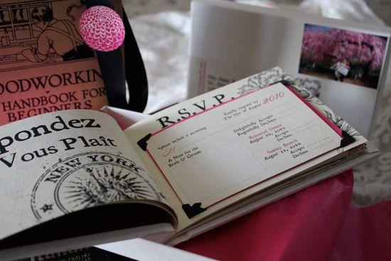 My \u201cWedding Book\u201d Invitations Rsvp, Wedding and Wedding