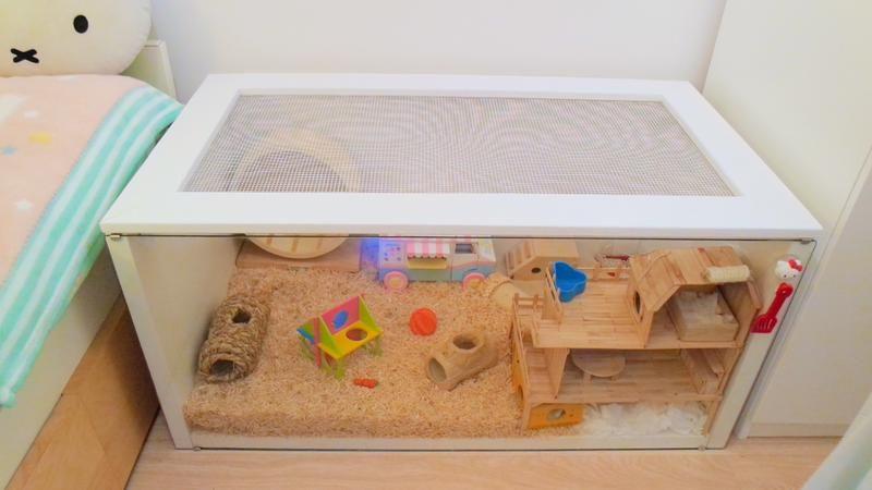 Diy Ikea Linnmon Cage Hamster Central Hamster Cages Hamster Diy Cage Hamster Diy