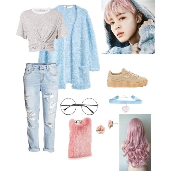 Jimin Casual Outfit ( Spring Day ) By Btssuga02 On Polyvore Featuring Polyvore Hu0026M T By ...