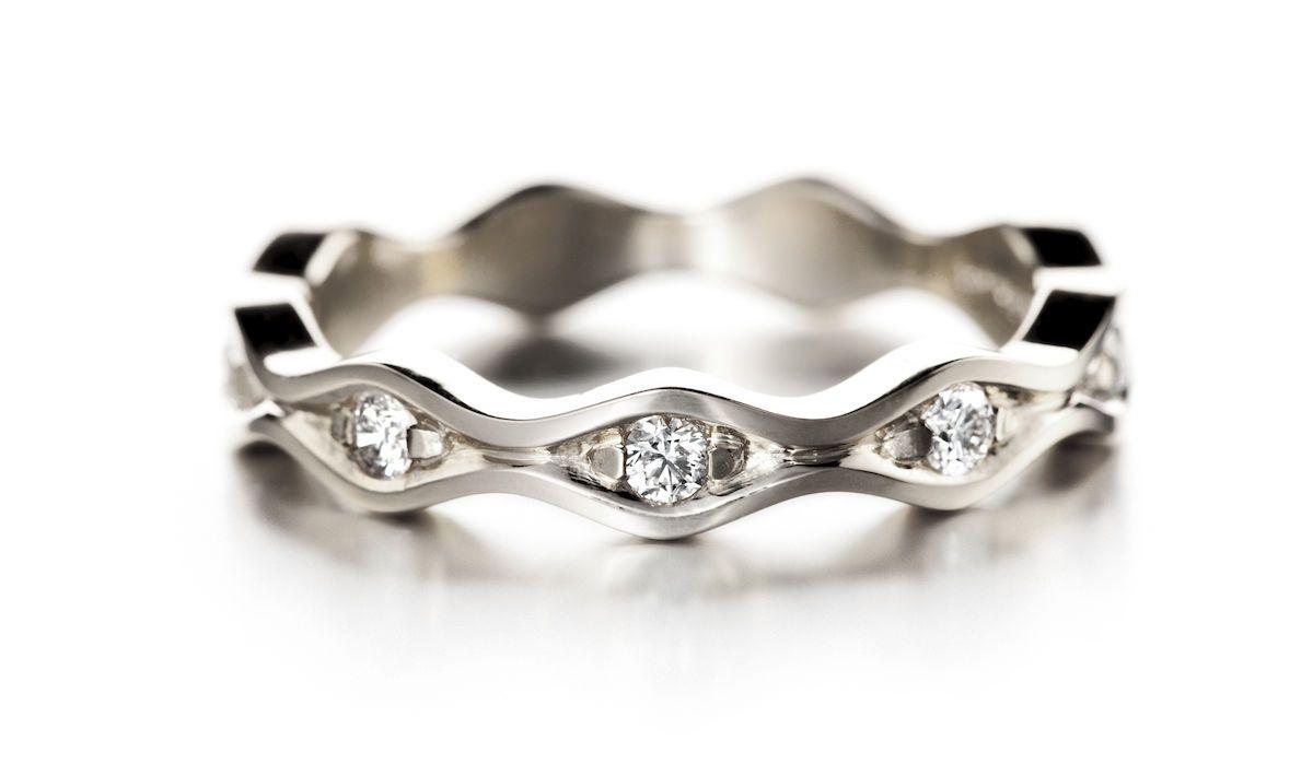 Lempi timanttisormus 0,20ct 585 VK - Puustjärven kello ja kulta -verkkokauppa