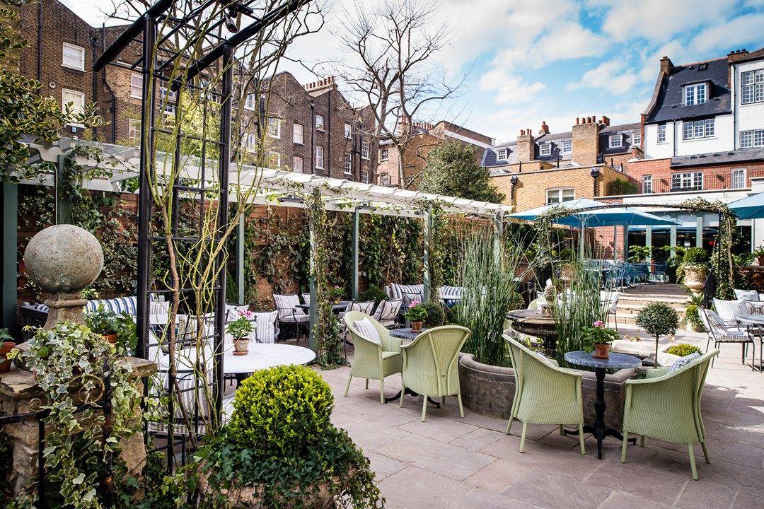 The best winter terraces in London Chelsea garden, The