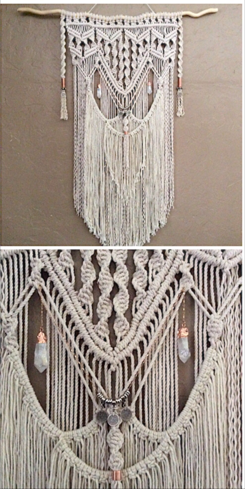 love this macrame wall hanging very bohemian you can get on wall hanger id=23299