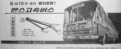 ベンツ高速バス(天一「チョンイル」高速バス)