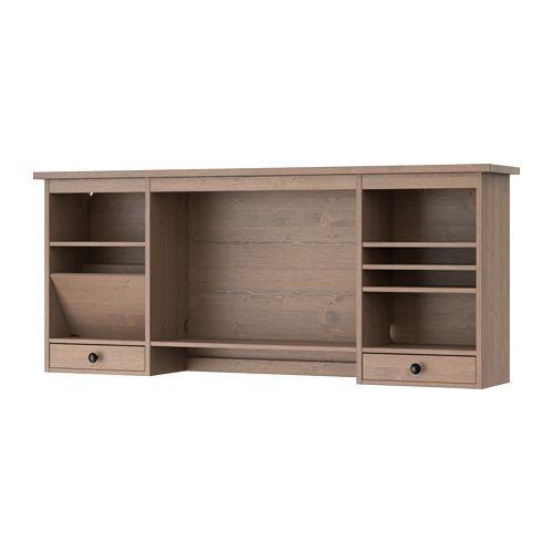 Ikea - Hemnes, Élément Complémentaire Bureau, Gris-Brun