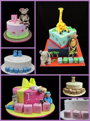 Cake Decoration With Name : Fondant Alphabet Name Blocks For Decorating Cakes Easy To ...